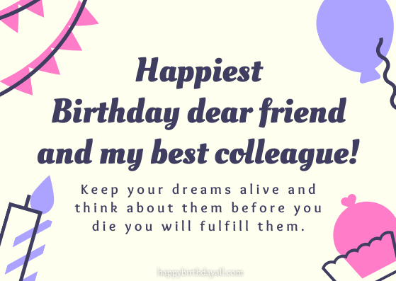 Inspirational Birthday Wishes for Colleagues