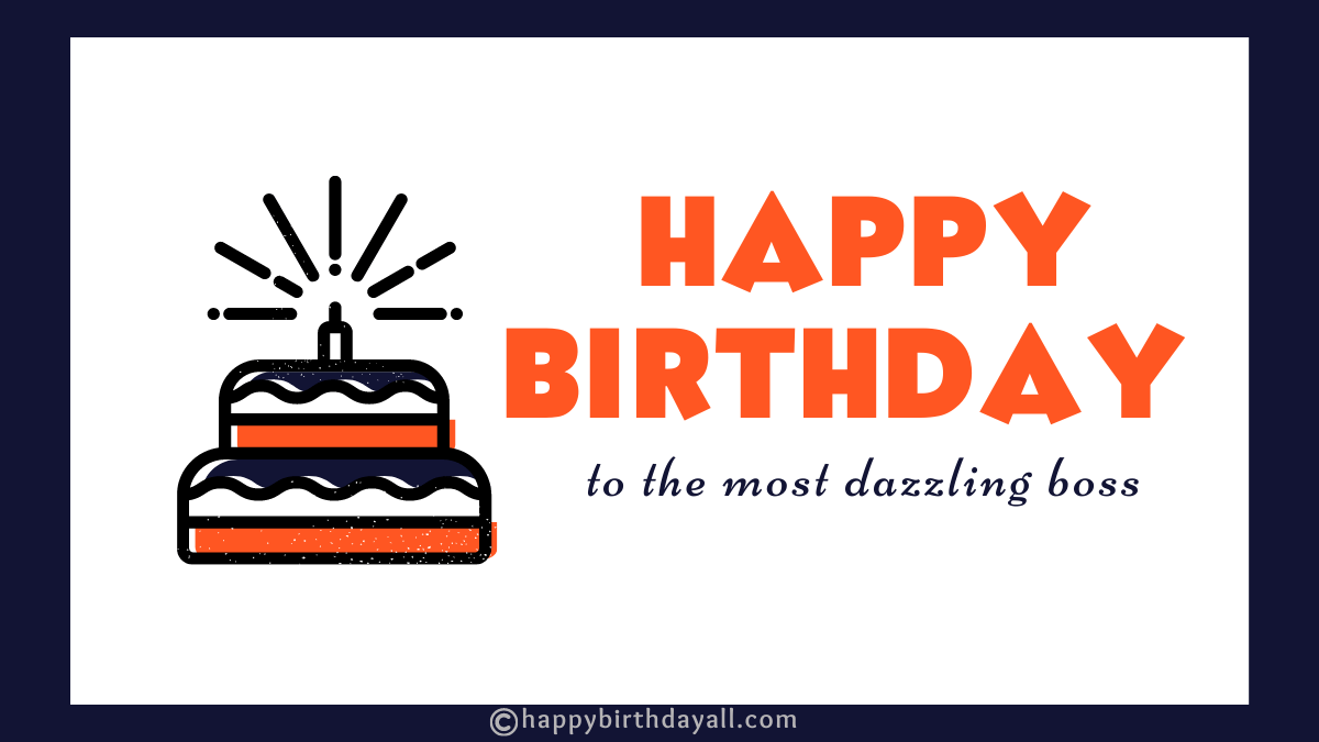 Best Inspirational & Professional Birthday Wishes for Boss with Images