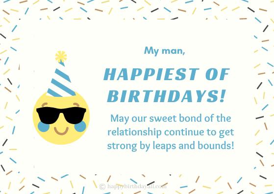 Emotional Birthday Wishes for Boyfriend