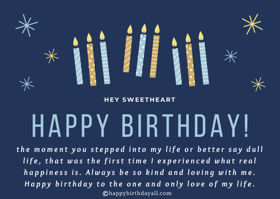 Emotional Happy Birthday Quotes for Husband