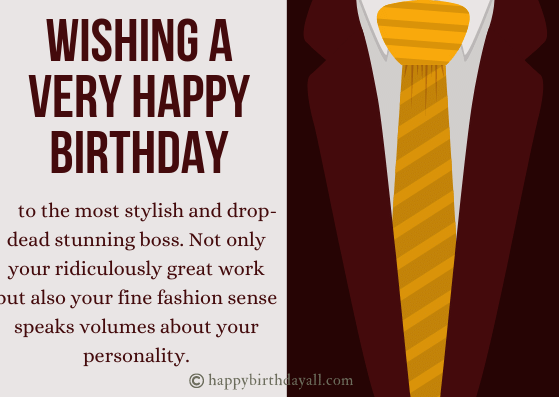 Happy Birthday Boss Quotes with Images