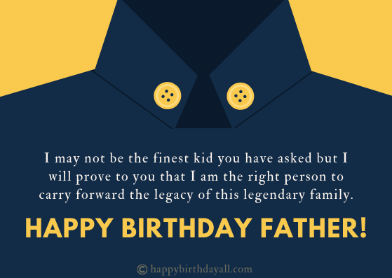 Best Birthday Wishes for Father