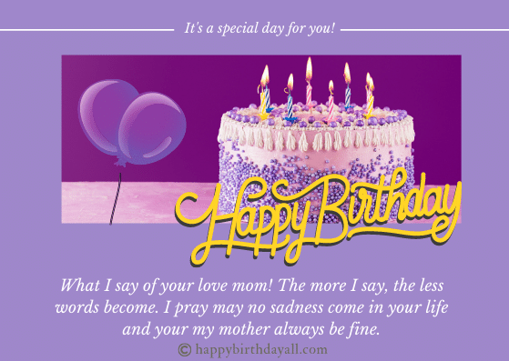 Meaningful Happy Birthday Mom Quotes