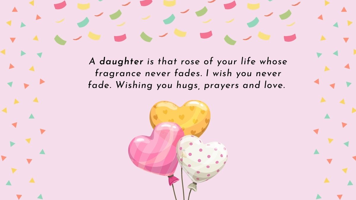 Heart touching birthday wishes for daughter from mother