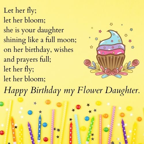 Heartwarming Birthday Poems for Daughter from Parents