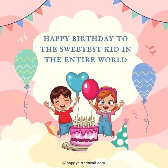 Happy Birthday Kids Images