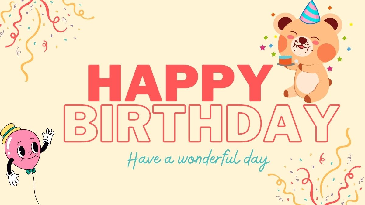 Beautiful Happy Birthday Images for kid Boy & Girl